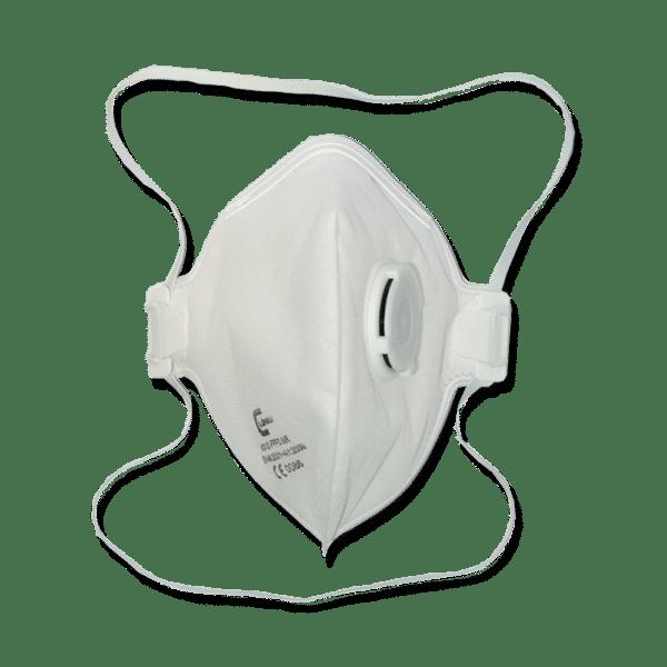 Mascherina FFP3V compatta con Valvola