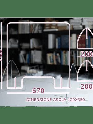 Divisori Parafiato in Plexiglass