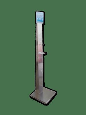 Piantana dispenser in Alluminio