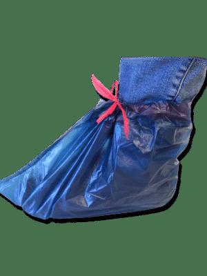 Calzari Copriscarpa Monouso in PVC a bustina con lacci