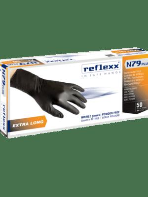 Nitrile guanti lunghi N79 Reflexx