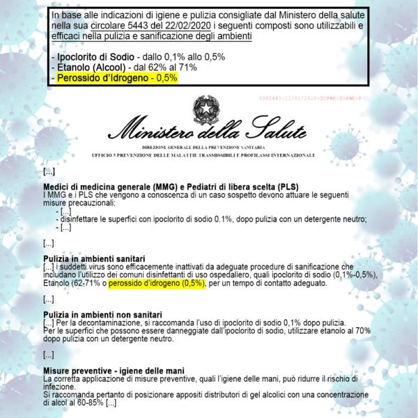 OXISAN Circolare Igiene Ministero_WHITE