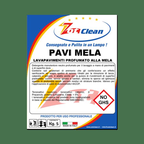 PAVI MELA – Detergente Lavapavimenti Profumato