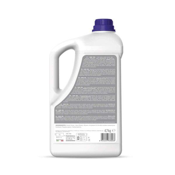 sanigel sanitec Gel Mani Igienizzante e Rinfrescante 4.7 kg